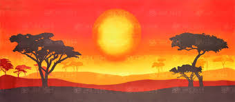 king of backdrops sun landscape scenic background grosh es7975