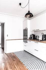 plancher cuisine bois 10 façons d actualiser un plancher sans le changer