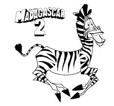 dibujo madagascar 2 marty pintado por hugito en dibujos net el
