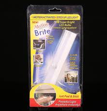 stick up led lights brite light wardrobe light corridor lights bedside l motion brite