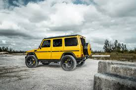 lifted mercedes truck fully loaded lifted schoolbus mercedes g63 amg with the full