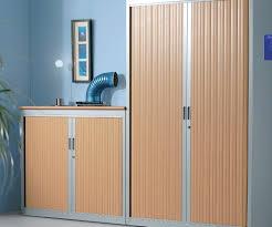 armoire bureau m allique armoires portes rideaux 2m mobilier bureau