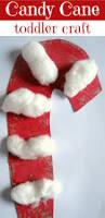 Christmas Candy Craft - 25 preschool christmas crafts kids will love