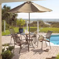 panama jack island breeze 7 piece slatted patio dining set