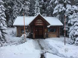 winter cabin willamette national forest winter sports