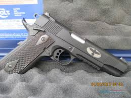 colt 1911 blackened s s