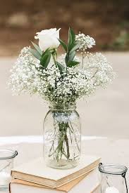 White Rose Centerpieces For Weddings by Best 25 Fake Flower Centerpieces Ideas On Pinterest Diy
