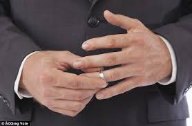 married ring does it matter if your refuses to wear his wedding ring mj