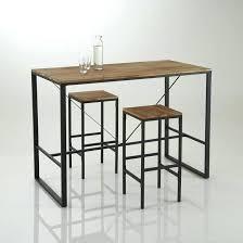 table pour la cuisine table de bar haute conforama cheap table bar cuisine but