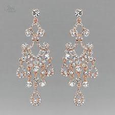 Rose Gold Chandelier Earrings Gold Chandelier Earrings Ebay