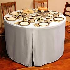 tablecloth for 48 round table excellent what size tablecloth for 4ft round table