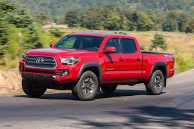 Tacoma Redesign 2017 Toyota Tacoma Review U0026 Ratings Edmunds