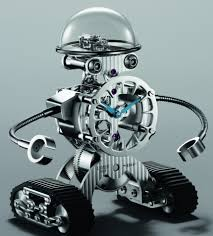 mb u0026f sherman u0027happy robot u0027 limited edition clock ablogtowatch