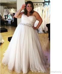 tulle wedding dress plus size wedding dresses with belt