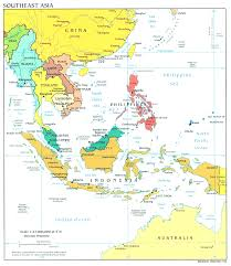 Countries Map South East Asia Country Map Evenakliyat Biz