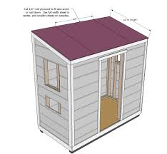 Shed Style Roof by Ana White Shed Chicken Coop Diy Projects