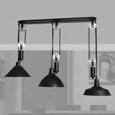 Industrial Pendant Lighting For Kitchen Pendant Pulley Light U2013 Eugenio3d