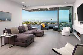 striking contemporary home overlooking the santa monica bay