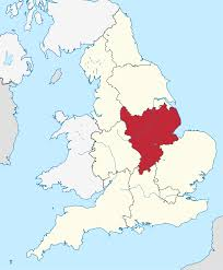 map of east uk east midlands