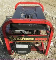 coleman powermate vantage 3500 generator item y9632 sold