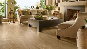 luxurious interior design with laminated wood flooring