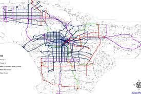La Metro Bus Map by Here U0027s Metro U0027s Big Proposal To Speed Up And Cut Back On Los