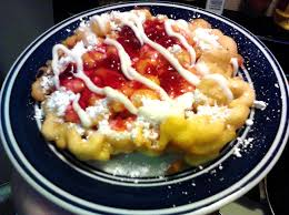 how to make funnel cake poor man u0027s gourmet kitchen