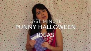 last minute punny halloween costumes youtube