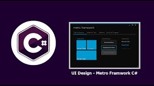 framework design สอนเข ยนโปรแกรมภาษา c ui design metro framework youtube