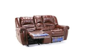 cheers reclining loveseat with center console snow u0027s furniture