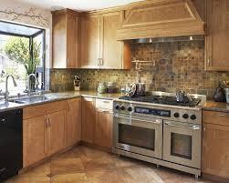 Copper Tile Backsplash For Kitchen - san francisco copper tile backsplash kitchen mediterranean with