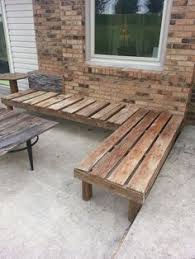 How To Build Patio Bench Seating Wooden Patio Bench Outdoor Patio Benches Wooden Home Design Photo