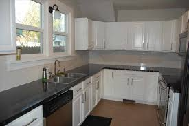 grey kitchens white backsplash ideas tiles off exquisite two tone