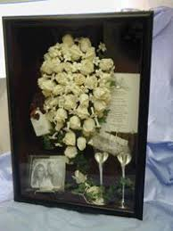wedding wishes keepsake shadow box 724 south house our big day displayed diy wedding shadow box