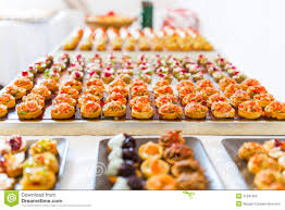 canapes buffet stock photo image 41591482
