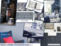 Blue Home Decor Ideas Denim Drift Mood Board Decorating With This Season U0027s Blue Trends