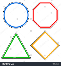 set roadsigns circle octagon stop sign stock vector 458911672 set of roadsigns circle octagon stop sign triangle and square road