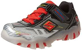 skechers red light up shoes amazon com skechers kids 90471l halt light up sneaker little kid