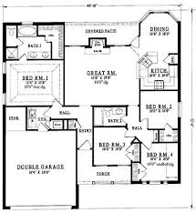 Simple One Bedroom House Plans 18 Best House Plans Images On Pinterest Country House Plans