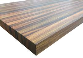 brazilian cherry jatoba butcher block countertop edge