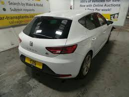 2015 seat leon mk3 5f tdi fr technology breaking for parts