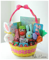 easter gift baskets for toddlers ideas for toddler easter basket tutorials for toddler leg warmers