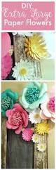 how to make huge paper flowers create and babble