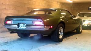 Last Year Of Pontiac Firebird Pontiac Firebird 1970 400 V8 Sound Youtube