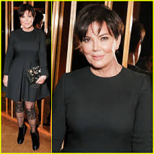 kris jenner hair colour kris jenner brings natural hair color to karl lagerfeld s intimate