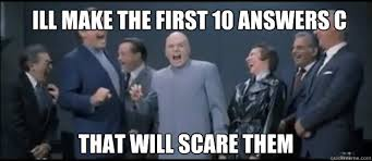 Meme Making Site - ill make the first 10 answers c that will scare them evil