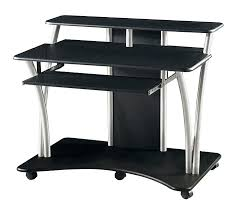 small black computer desk computer desk black south shore small computer desk in pure black