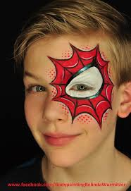 cheetah face makeup for halloween awesome and unusual spider man face painting face painting