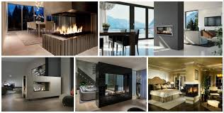 15 ultra modern two sided fireplaces that make a real wow addition