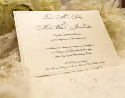 evening invitations white lace bespoke wedding stationery